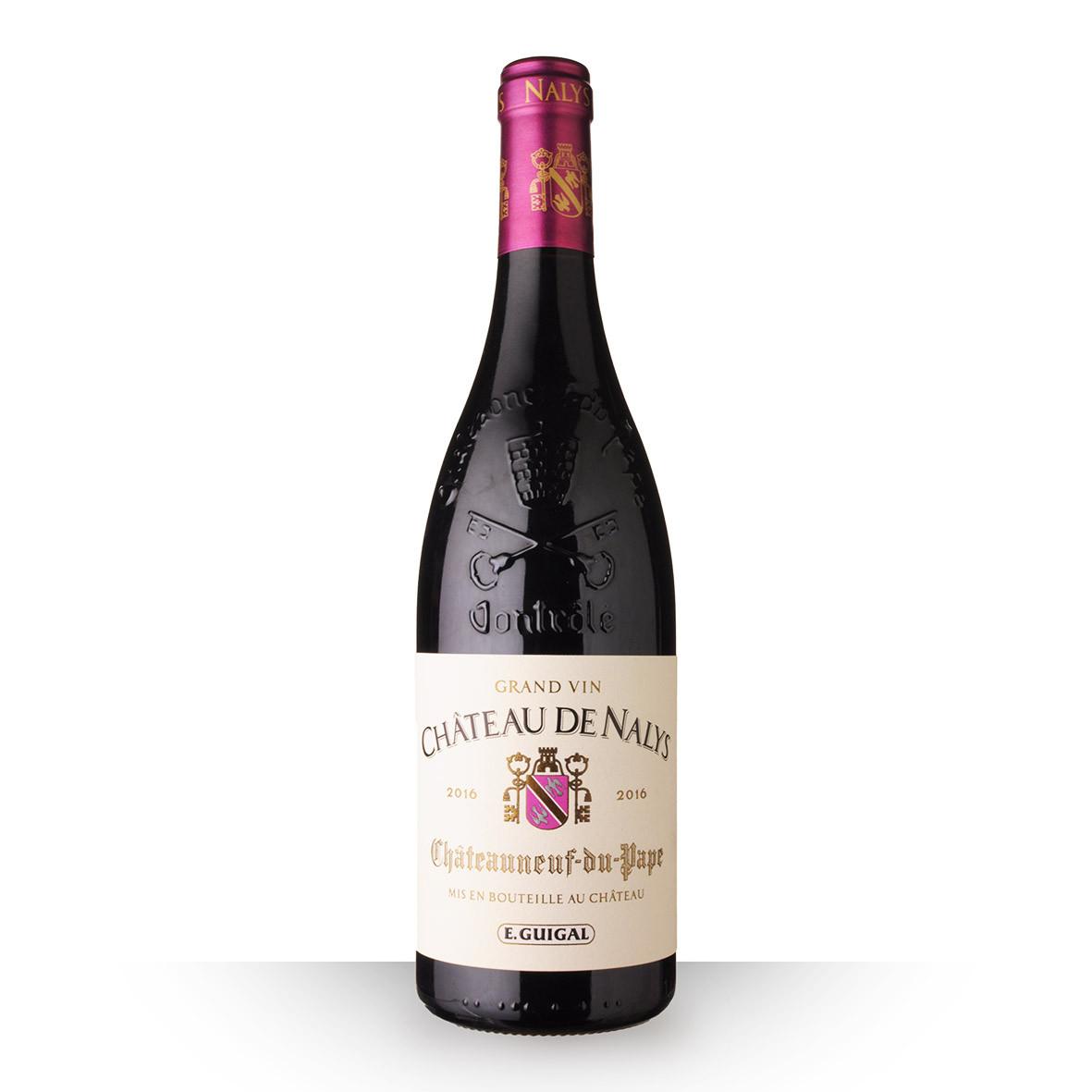 Château de Nalys Châteauneuf-du-Pape Rouge 2016 75cl www.odyssee-vins.com
