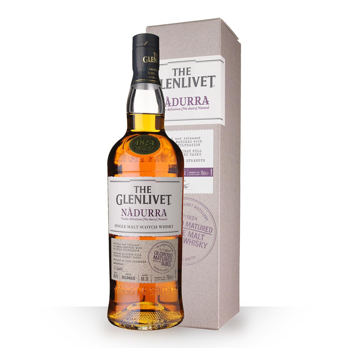 Whisky The Glenlivet Nàdurra Olorosso 70cl Etui www.odyssee-vins.com