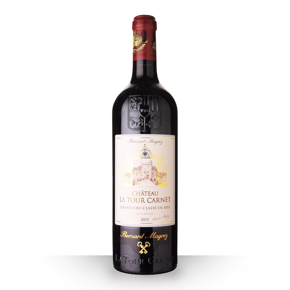 Château la Tour Carnet Haut-Médoc Rouge 2015 75cl www.odyssee-vins.com