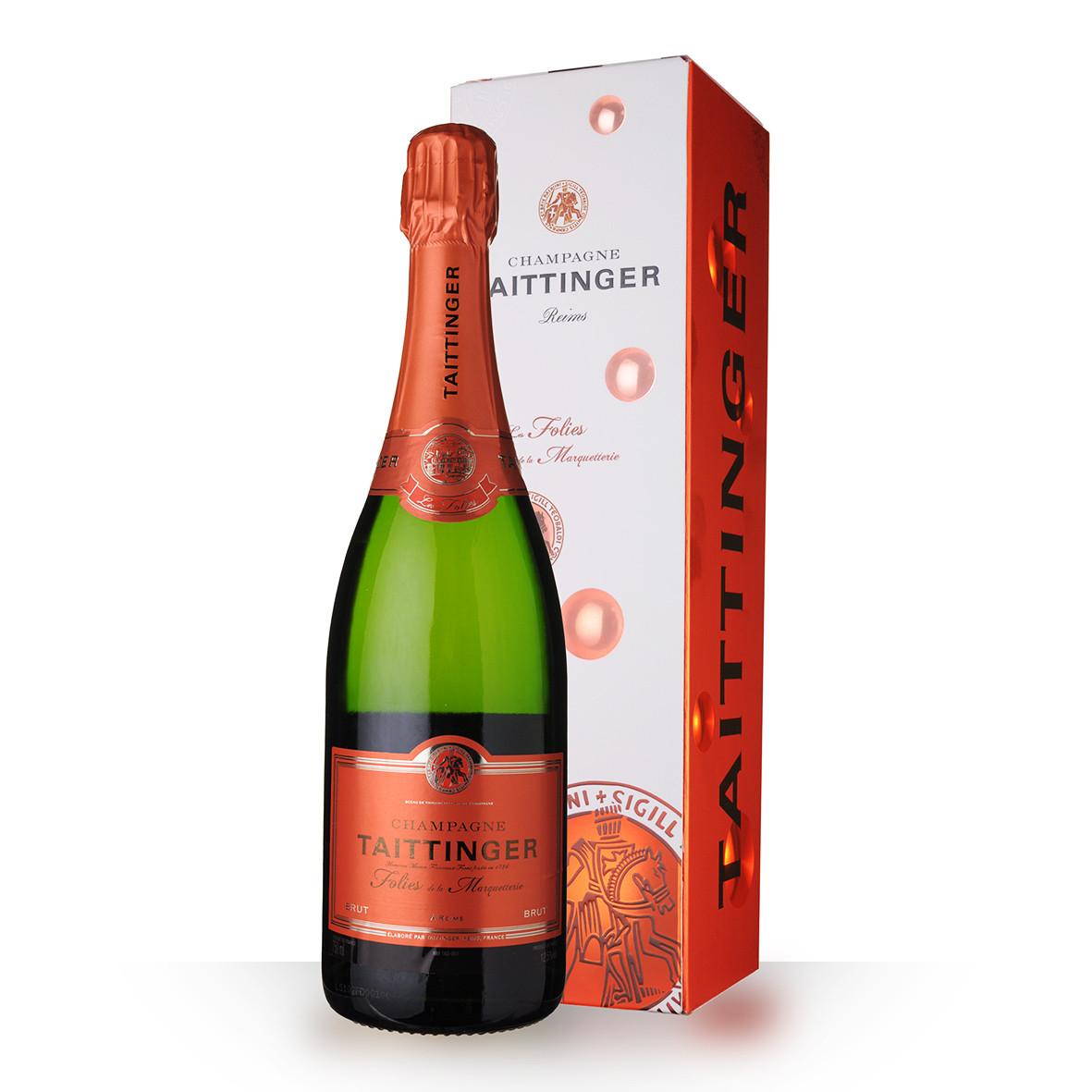 Champagne Taittinger Folies de la Marquetterie 75cl Etui www.odyssee-vins.com
