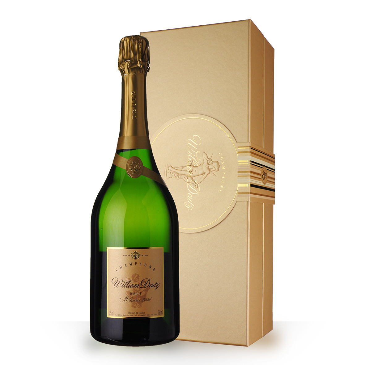 Champagne Deutz Cuvée William Deutz 2006 Brut 75cl Coffret www.odyssee-vins.com
