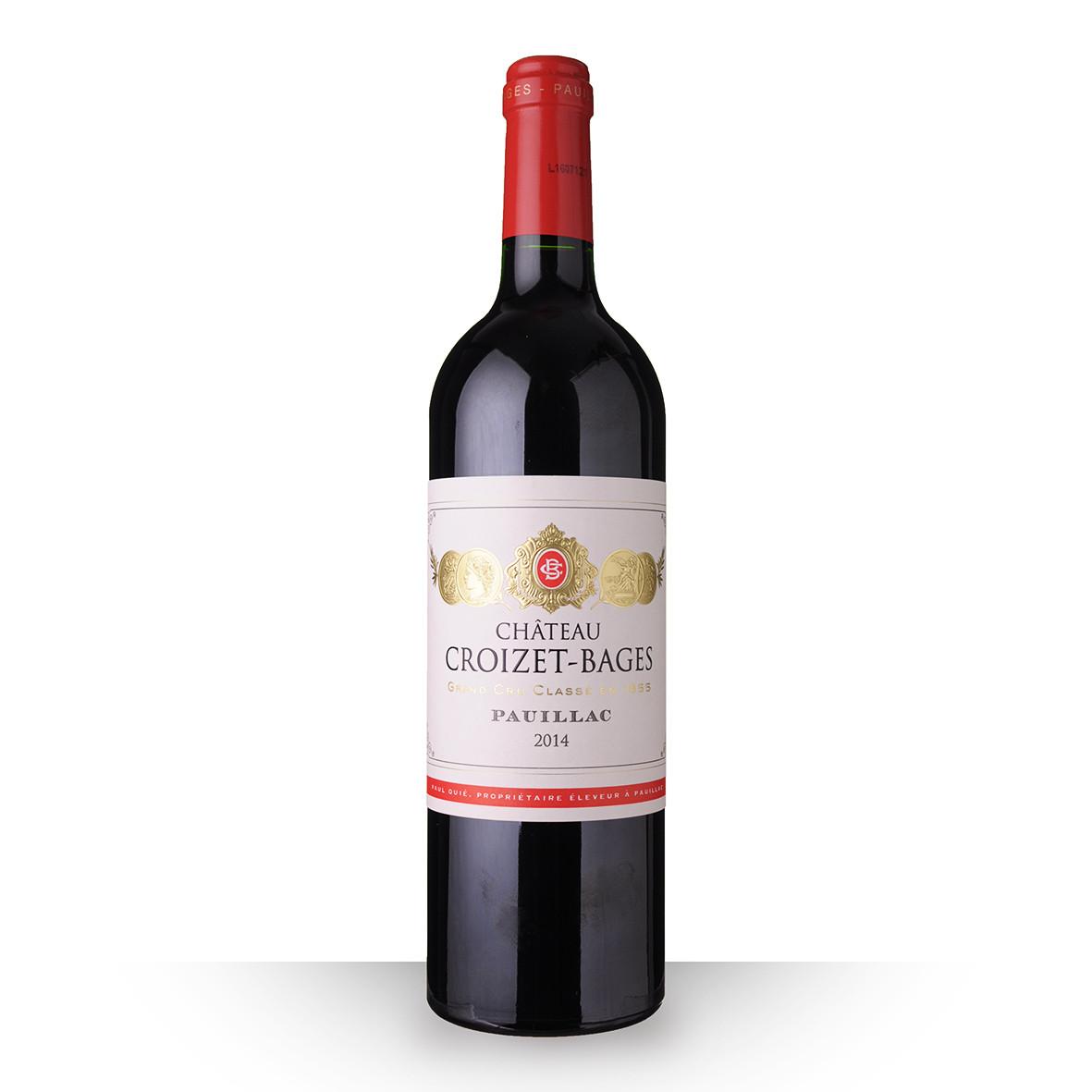 Château Croizet-Bages Pauillac Rouge 2014 75cl www.odyssee-vins.com