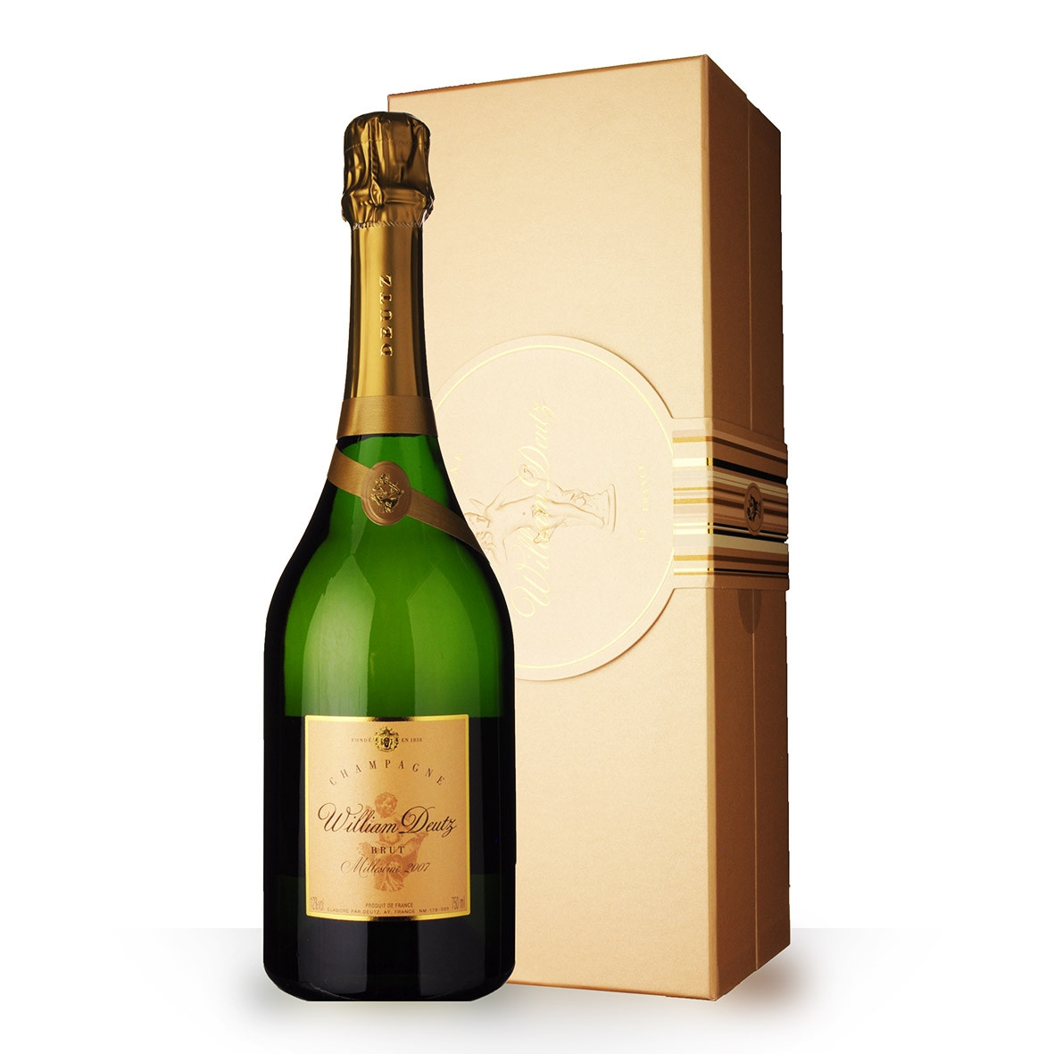 Champagne Deutz Cuvée William Deutz 2007 Brut 75cl Coffret www.odyssee-vins.com