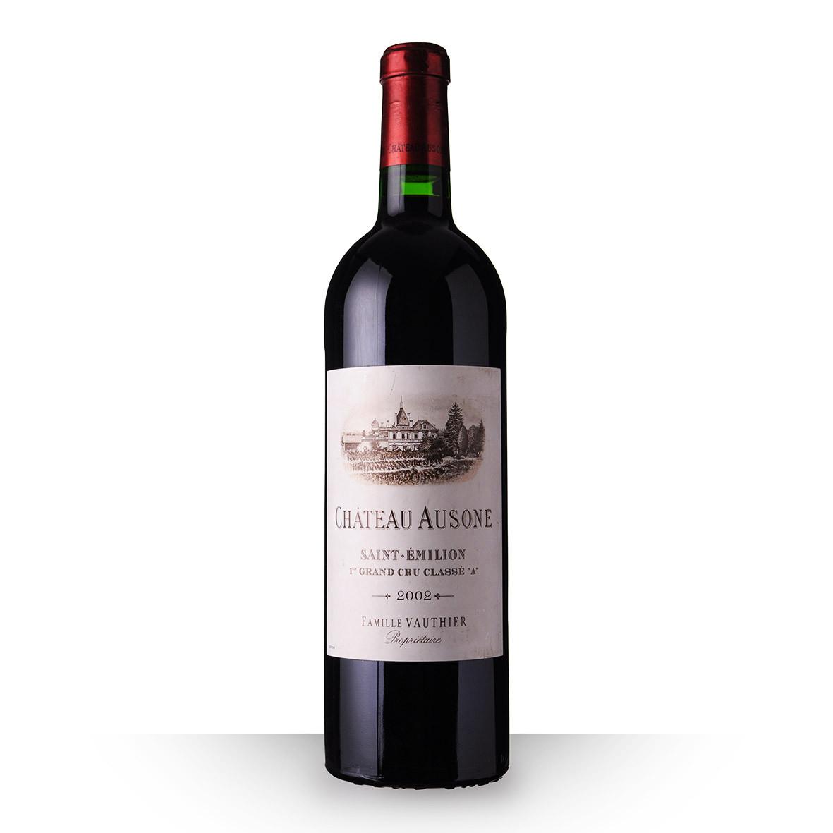 Château Ausone Saint-Emilion Grand Cru Rouge 2002 75cl www.odyssee-vins.com