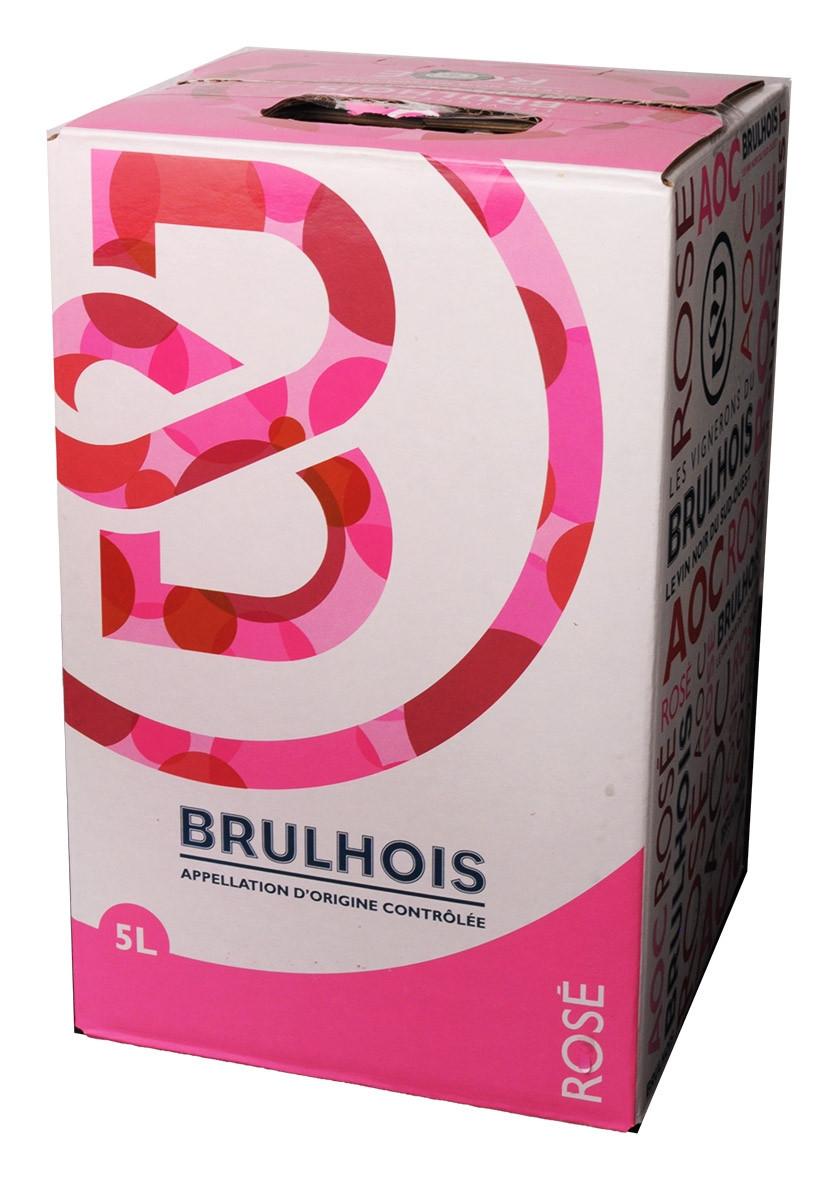 Bag-in-Box 5L Les Vignerons du Brulhois Brulhois Rosé www.odyssee-vins.com