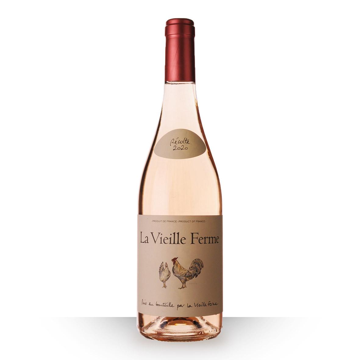 La Vieille Ferme Luberon Rosé 2020 75cl www.odyssee-vins.com