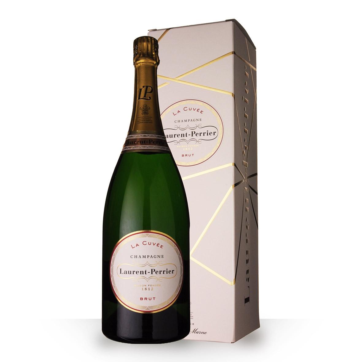 Champagne Laurent-Perrier La Cuvée 150cl Etui www.odyssee-vins.com