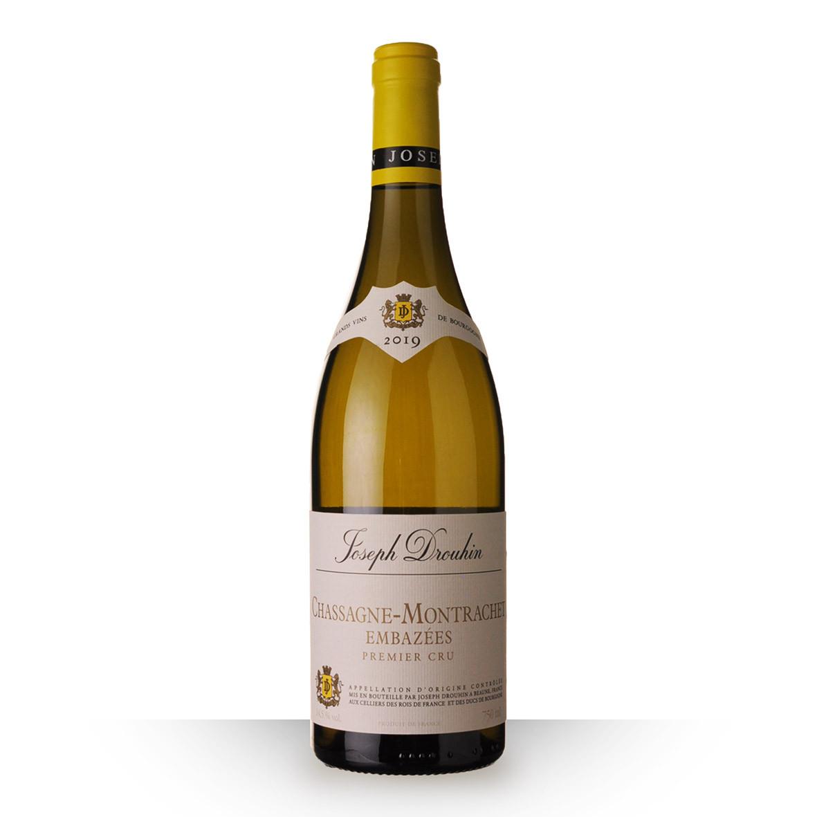 Joseph Drouhin Chassagne-Montrachet 1er Cru Embazées Blanc 2019 75cl www.odyssee-vins.com