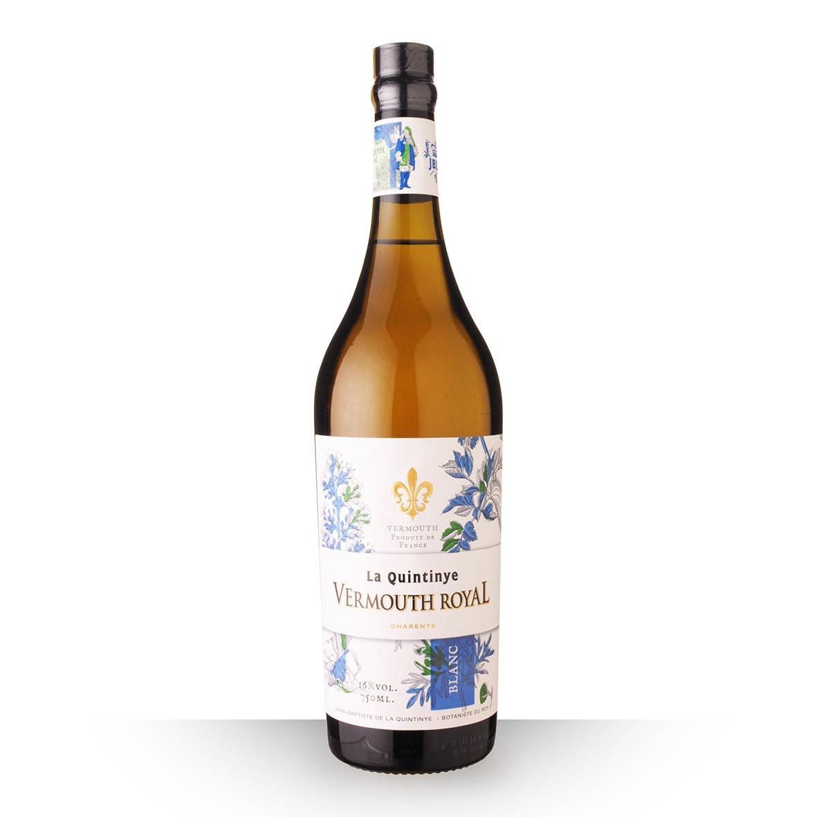Vermouth La Quintinye Vermouth Royal Blanc 75cl www.odyssee-vins.com