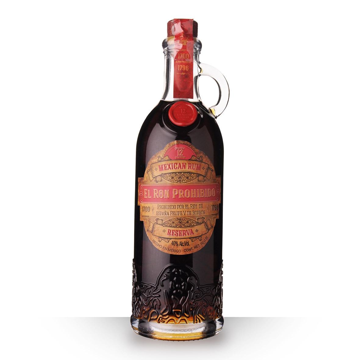 Rhum Prohibido 12 ans 70cl www.odyssee-vins.com