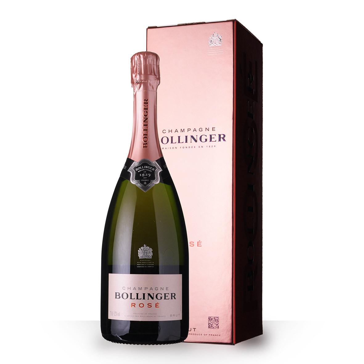 Champagne Bollinger Brut Rosé 75cl Etui www.odyssee-vins.com