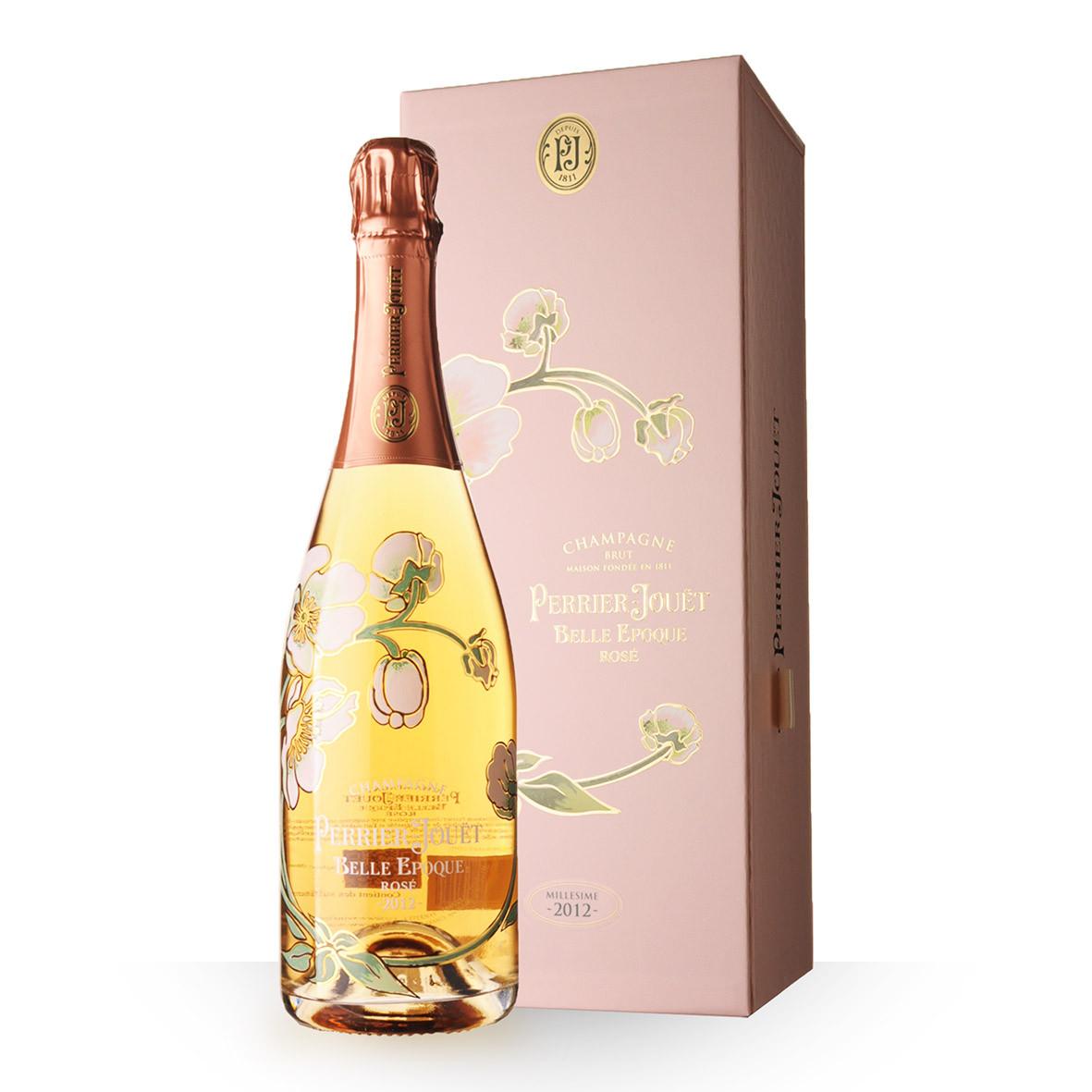 Champagne Perrier-Jouët Belle Epoque 2012 Rosé 75cl Coffret www.odyssee-vins.com