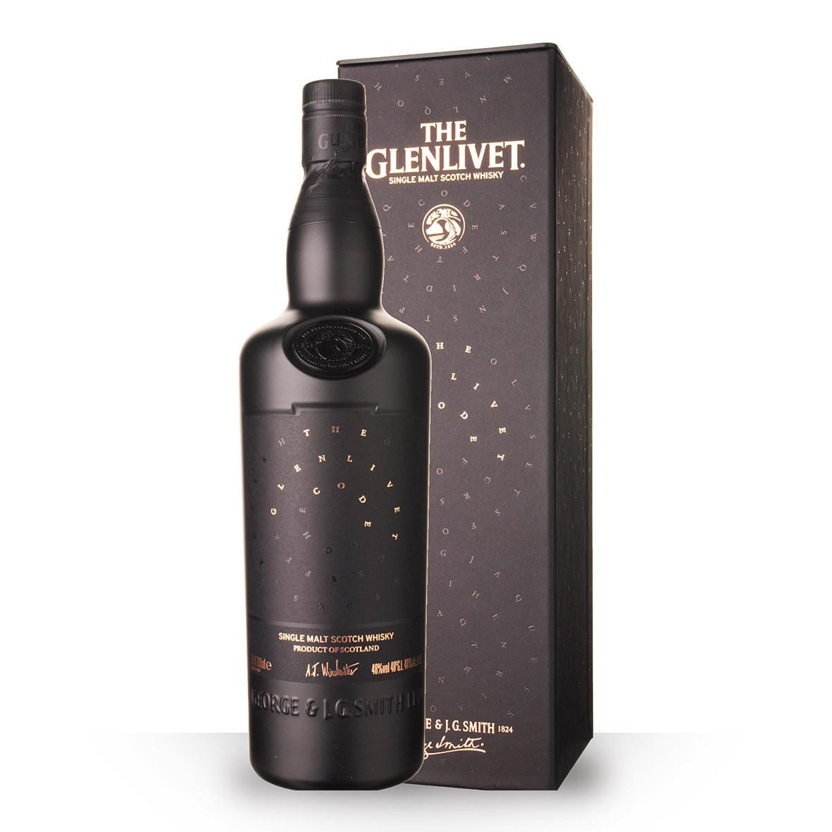 Whisky The Glenlivet Code 70cl Coffret www.odyssee-vins.com