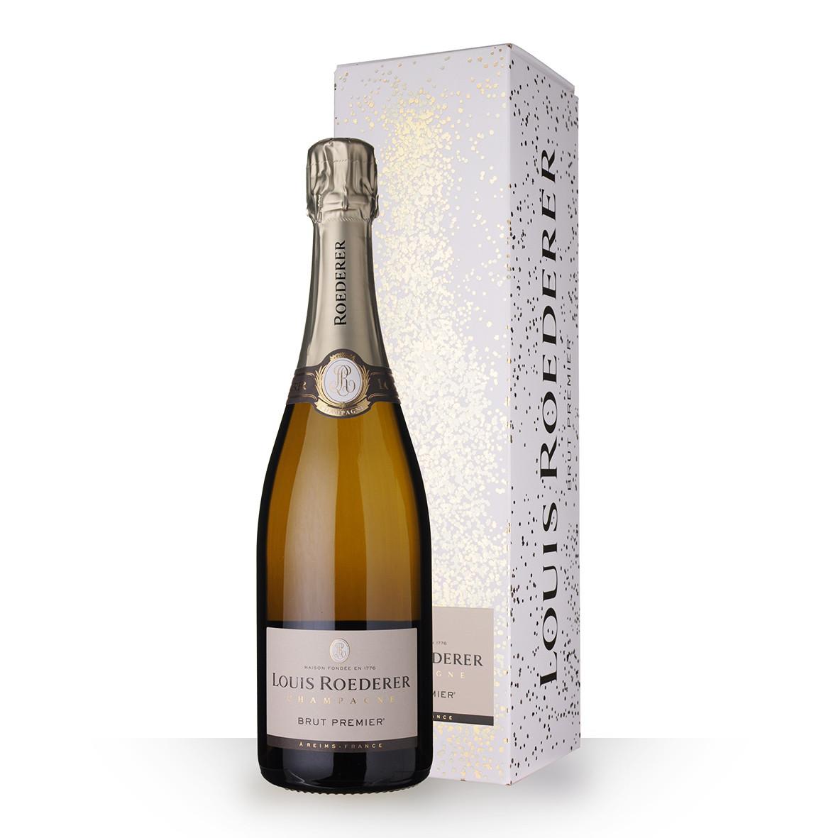 Champagne Louis Roederer 1er Brut 75cl Etui www.odyssee-vins.com