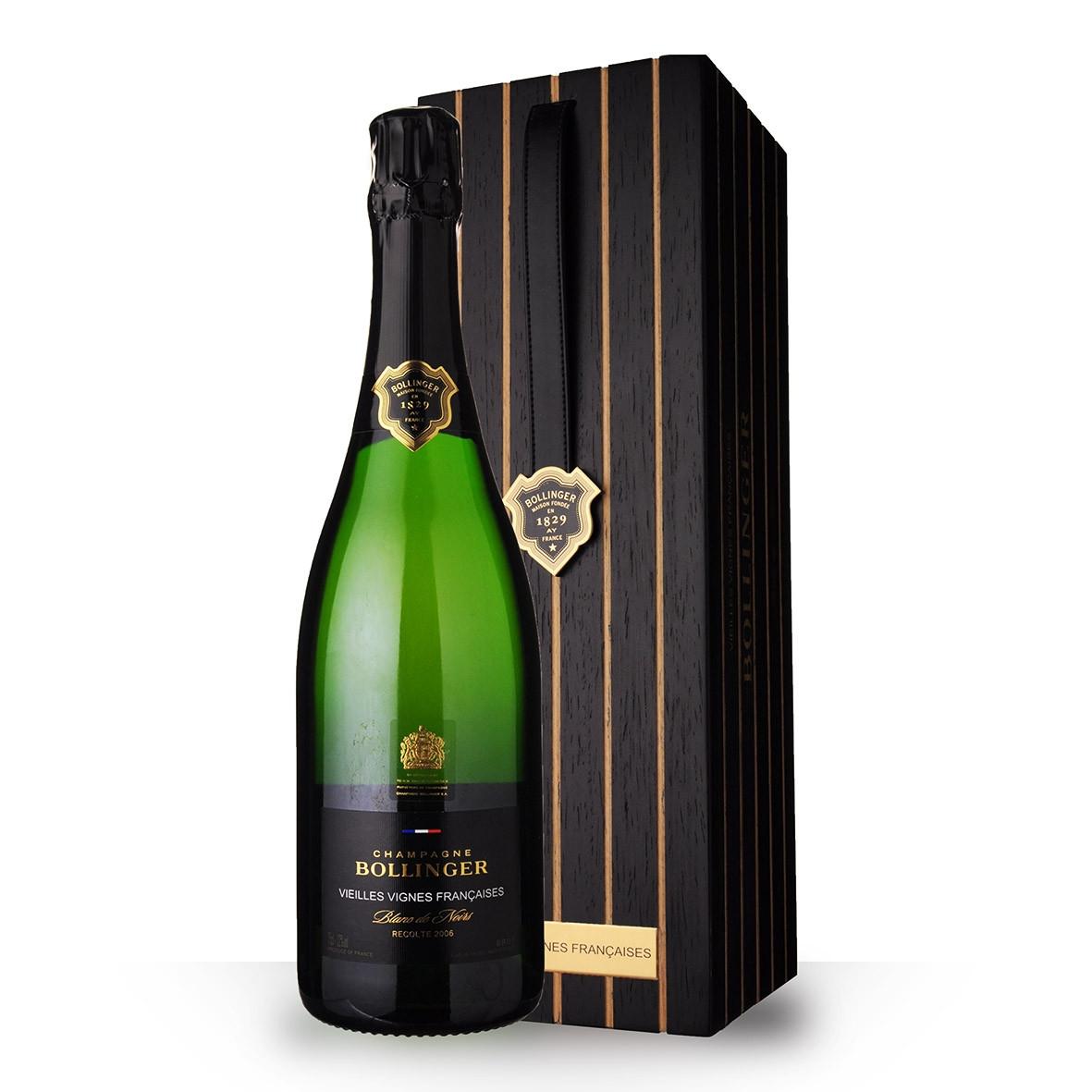 Champagne Bollinger Vieilles Vignes Françaises 2006 Brut 75cl Coffret www.odyssee-vins.com
