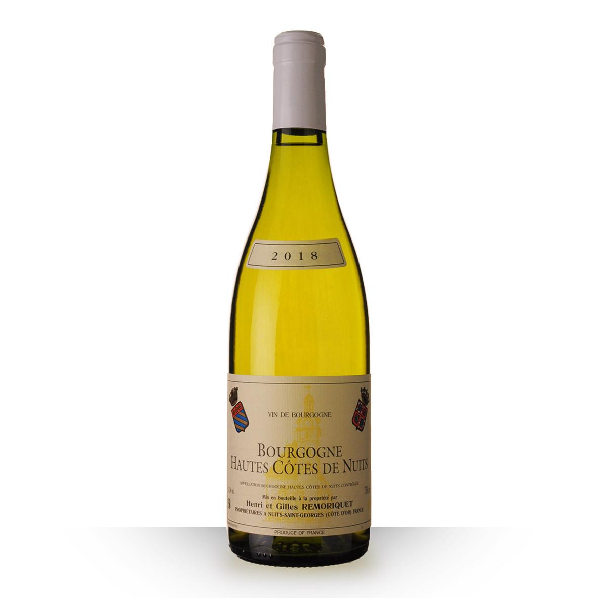 Domaine Remoriquet Bourgogne Hautes Côtes de Nuits Blanc 2018 75cl www.odyssee-vins.com