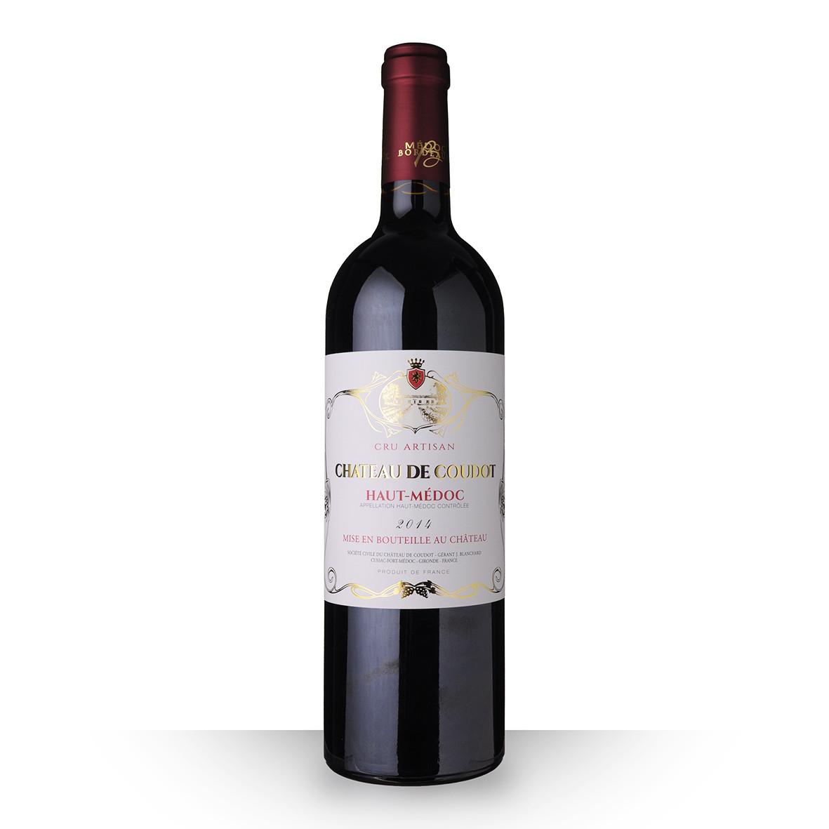 Château de Coudot Haut-Médoc Cru Artisan Rouge 2014 75cl www.odyssee-vins.com