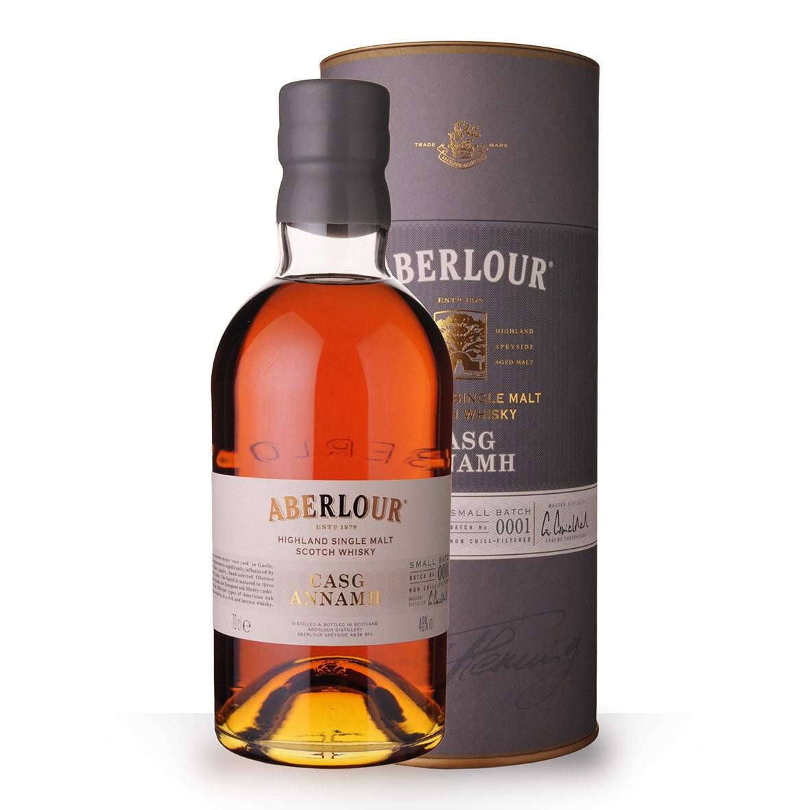 Whisky Aberlour Casg Annamh 70cl Coffret www.odyssee-vins.com