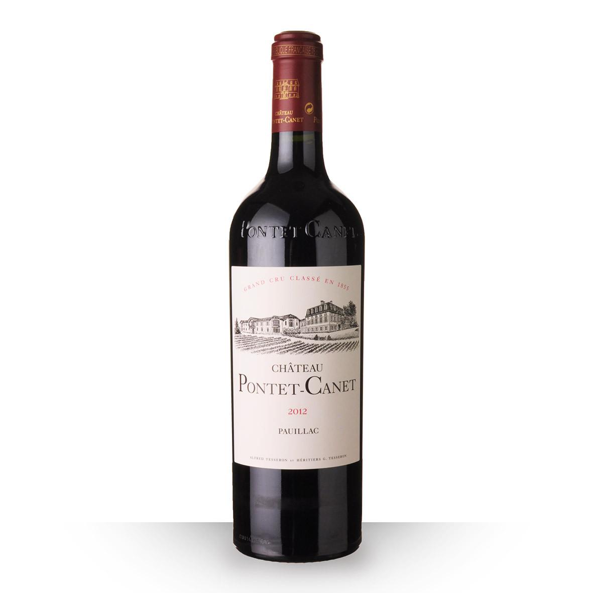 Château Pontet-Canet Pauillac Rouge 2012 75cl www.odyssee-vins.com
