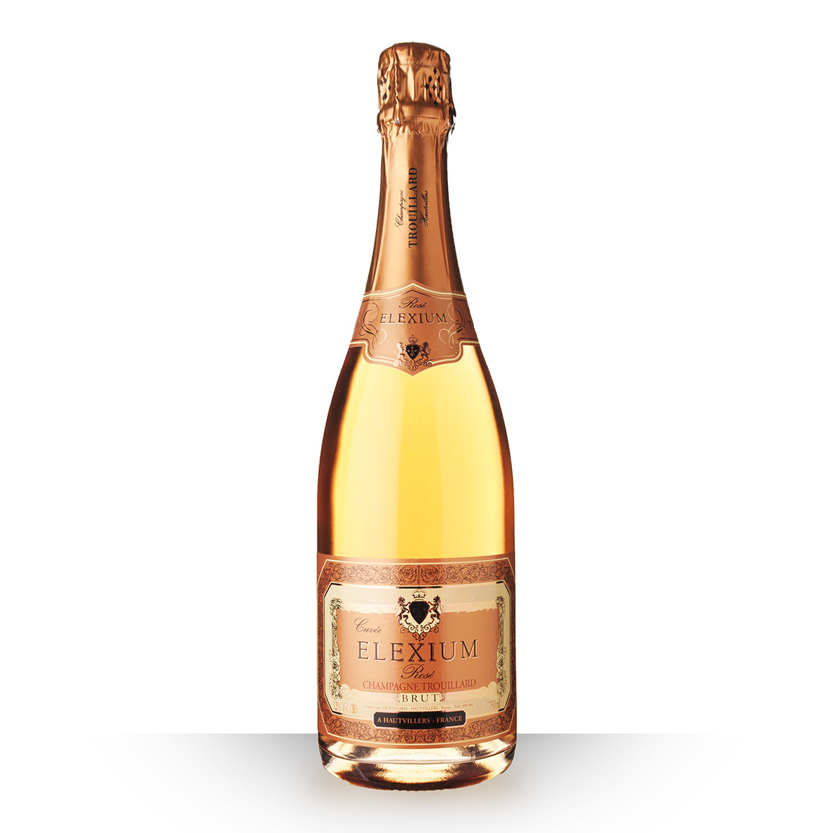 Champagne Trouillard Elexium Brut Rosé 75cl www.odyssee-vins.com