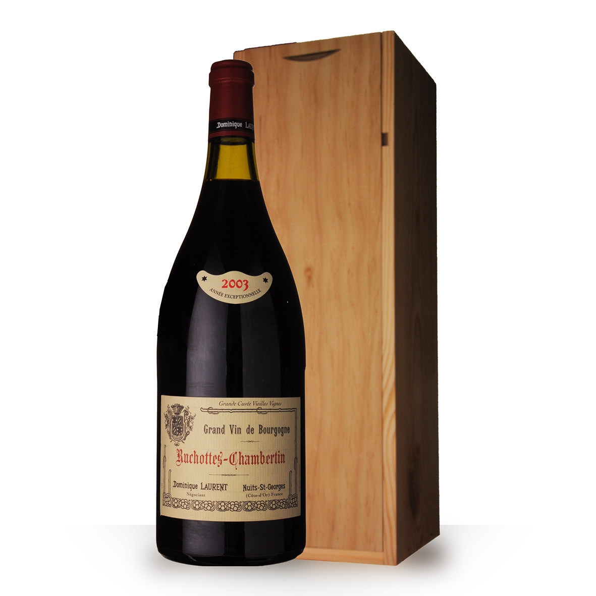 Dominique Laurent Ruchottes-Chambertin Blanc 2003 150cl www.odyssee-vins.com