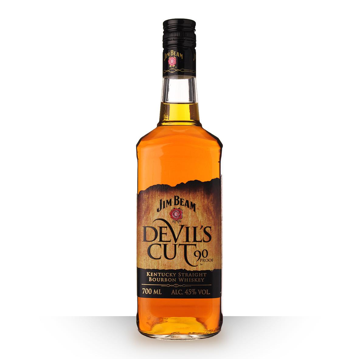 Whisky Jim Beam Devils Cut 70cl www.odyssee-vins.com