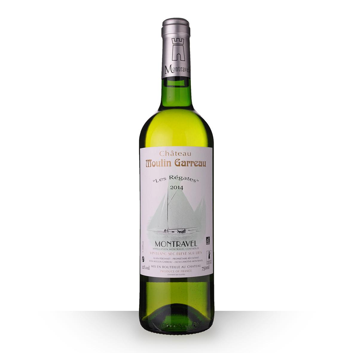 Château Moulin-Garreau les Régates Montravel Blanc 2014 75cl www.odyssee-vins.com