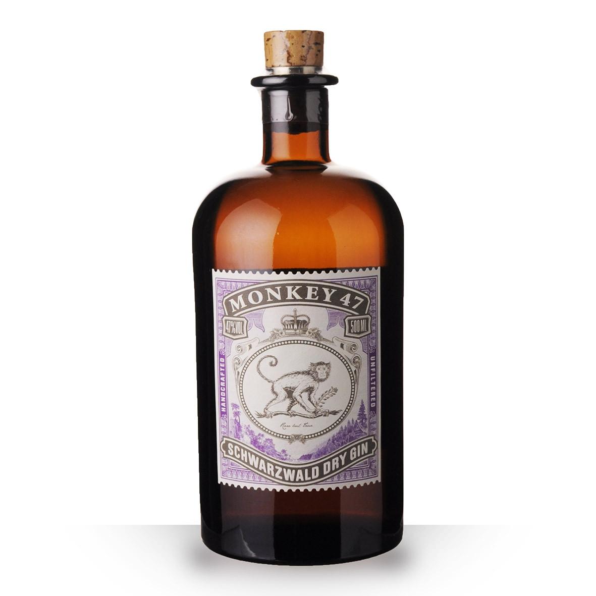 Gin Monkey 47 Dry Gin 50cl www.odyssee-vins.com