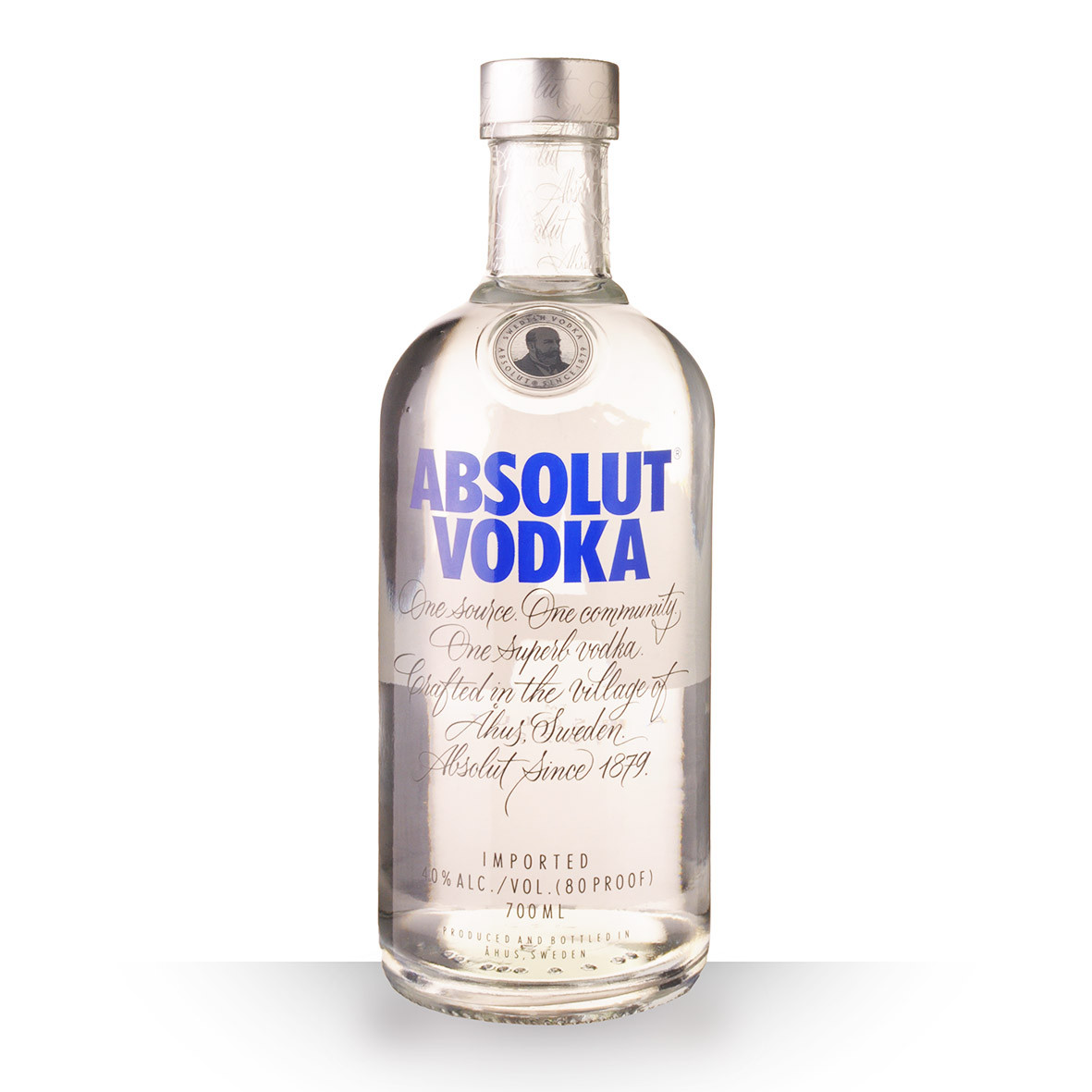 Vodka Absolut Vodka 70cl www.odyssee-vins.com
