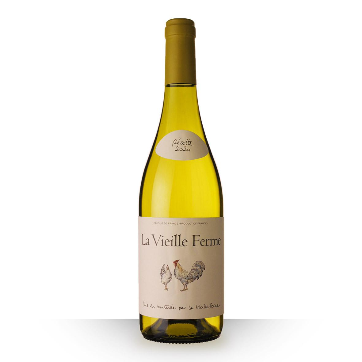 La Vieille Ferme Luberon Blanc 2020 75cl www.odyssee-vins.com
