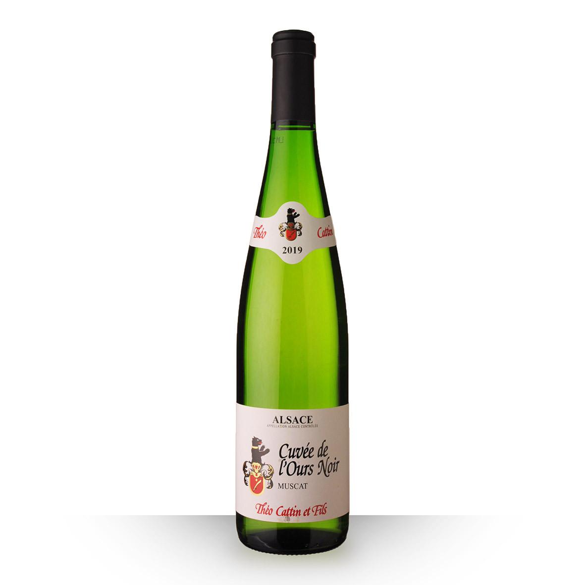 Théo Cattin Cuvée de lOurs Noir Alsace Muscat Blanc 2019 75cl www.odyssee-vins.com