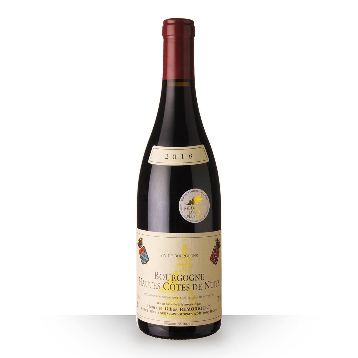 Domaine Remoriquet Bourgogne Hautes Côtes de Nuits Rouge 2018 75cl www.odyssee-vins.com