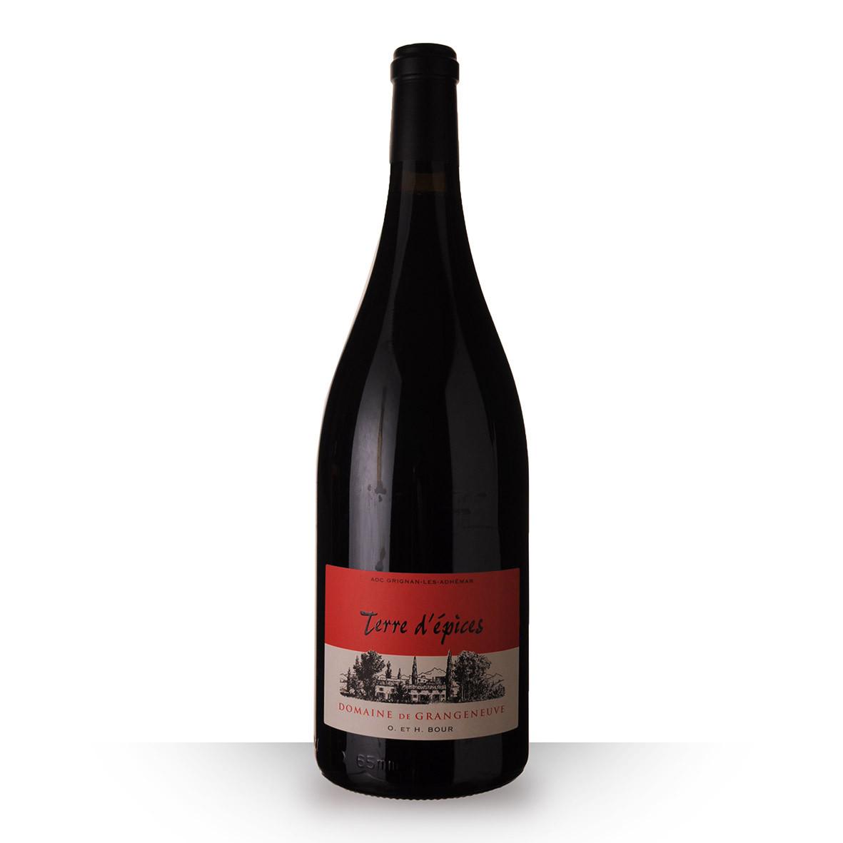 Domaine de Grangeneuve Terre dEpices Grignan-Les-Adhémar Rouge 2019 150cl www.odyssee-vins.com