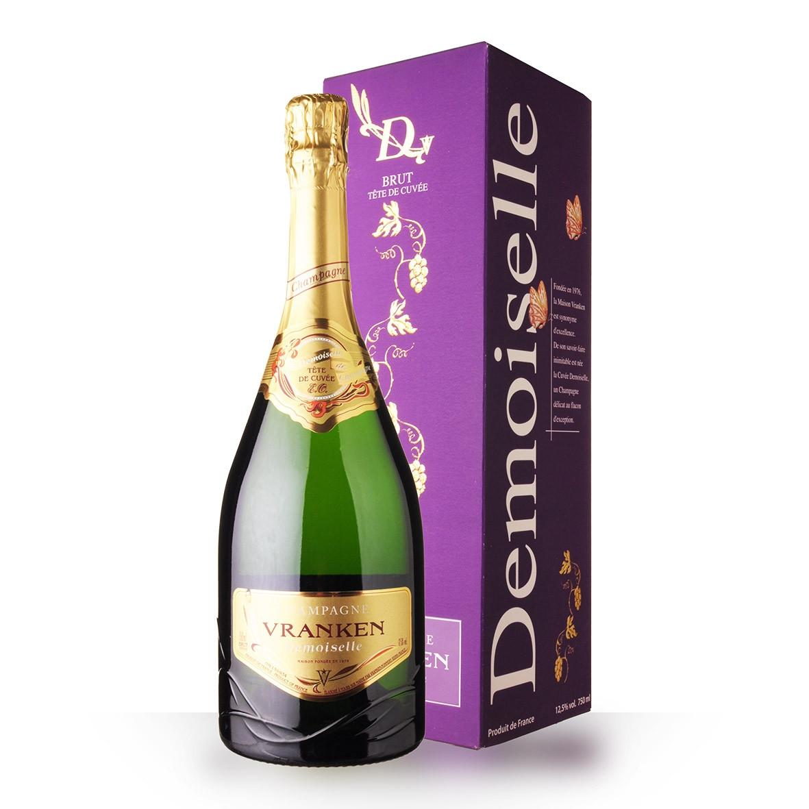 Champagne Vranken Demoiselles Tête de Cuvée Brut 75cl Etui www.odyssee-vins.com