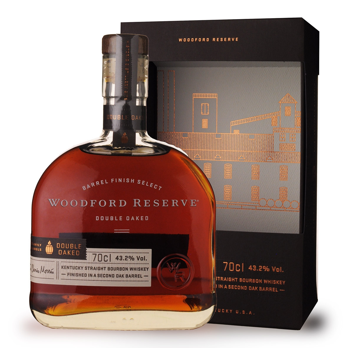 Whisky Woodford Reserve Double Oaked 70cl Etui www.odyssee-vins.com