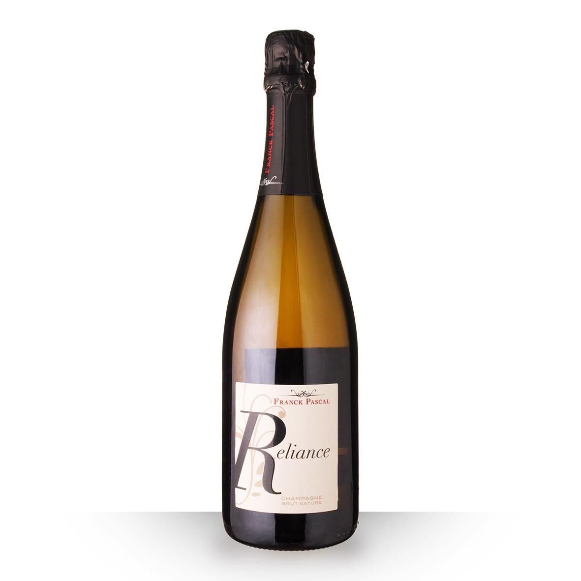 Champagne Franck Pascal Reliance Brut Nature 75cl www.odyssee-vins.com