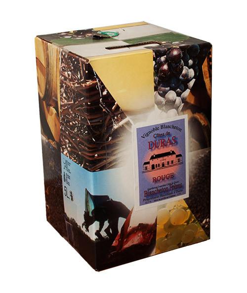 Bag-in-Box 10L Vignobles Blancheton Côtes de Duras Rouge www.odyssee-vins.com