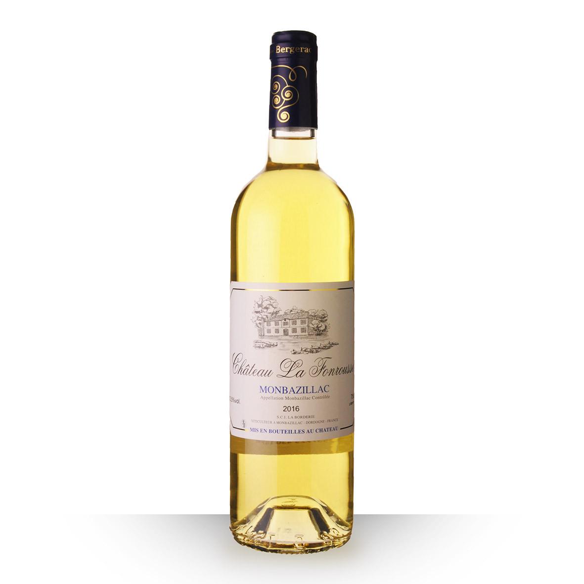 Château la Fonrousse Monbazillac Blanc 2016 75cl www.odyssee-vins.com