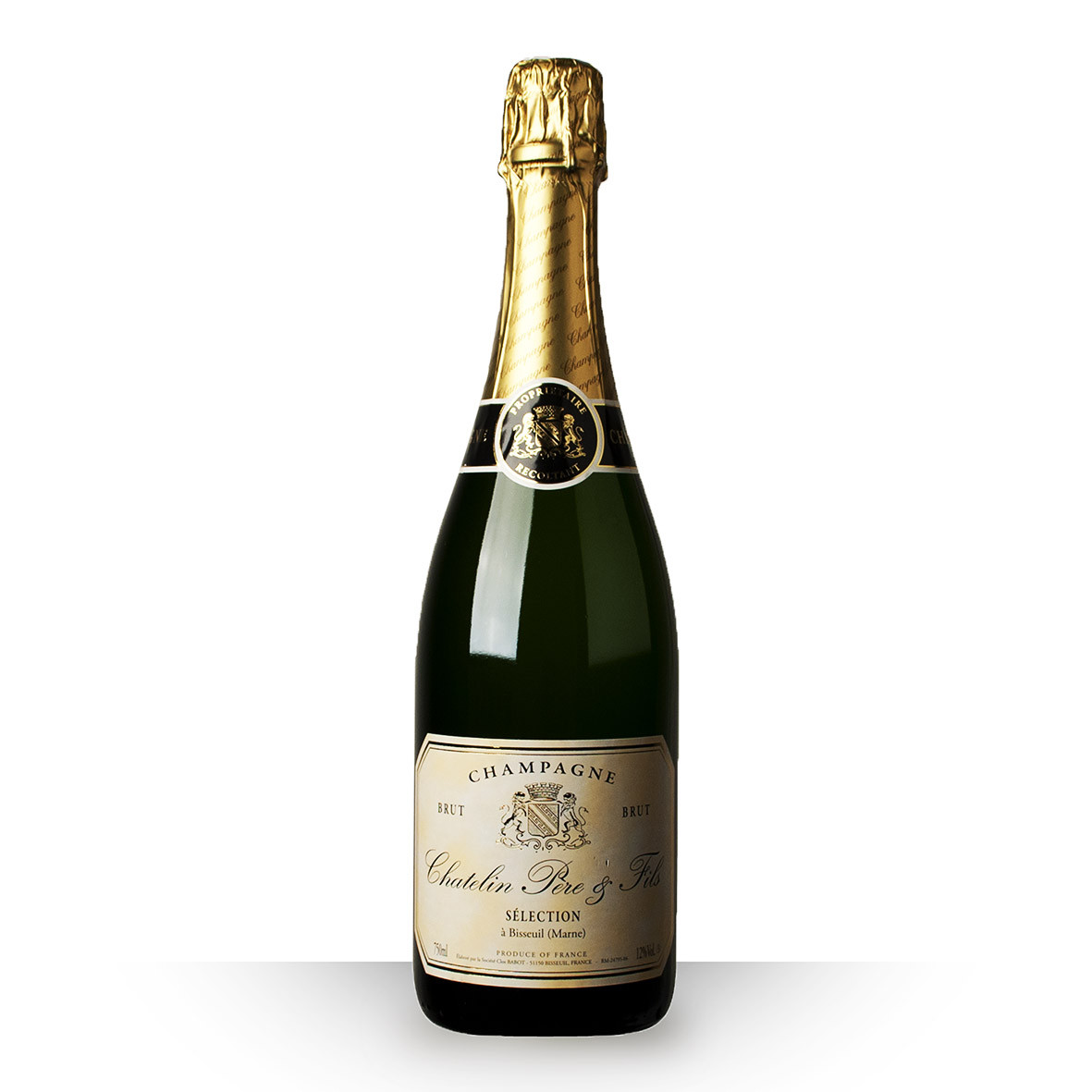 Champagne Chatelin Brut 75cl www.odyssee-vins.com