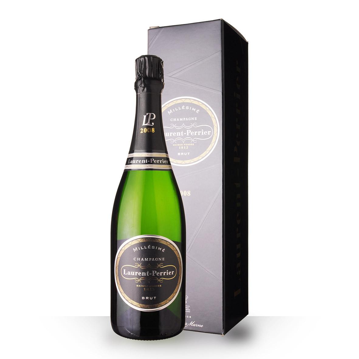 Champagne Laurent-Perrier Brut Millésimé 2008 75cl Etui www.odyssee-vins.com