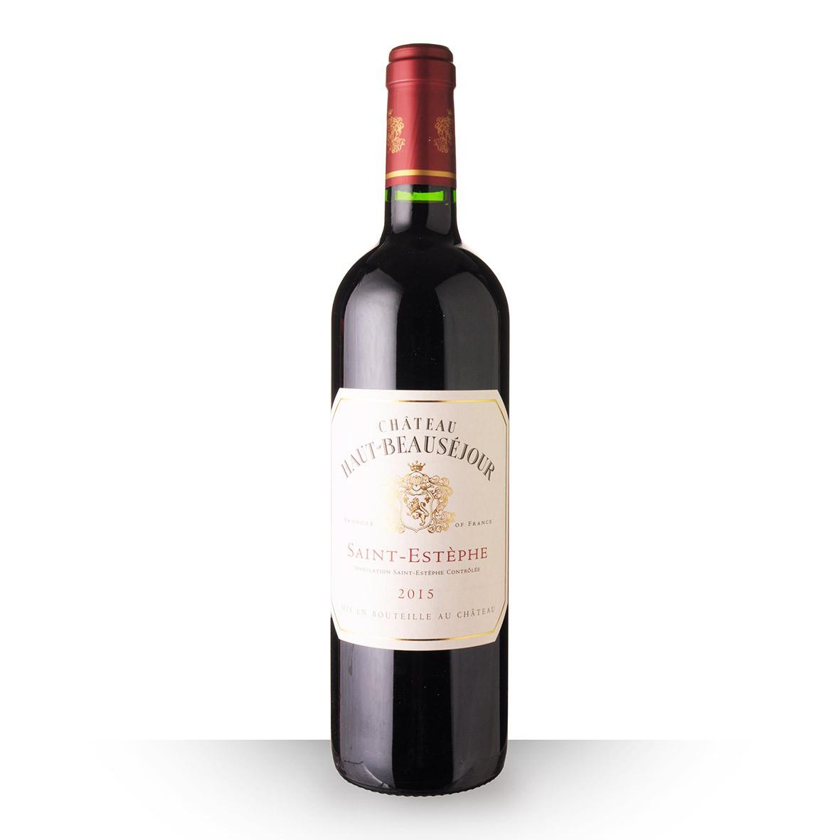 Château Haut-Beauséjour Saint-Estèphe Rouge 2015 75cl www.odyssee-vins.com