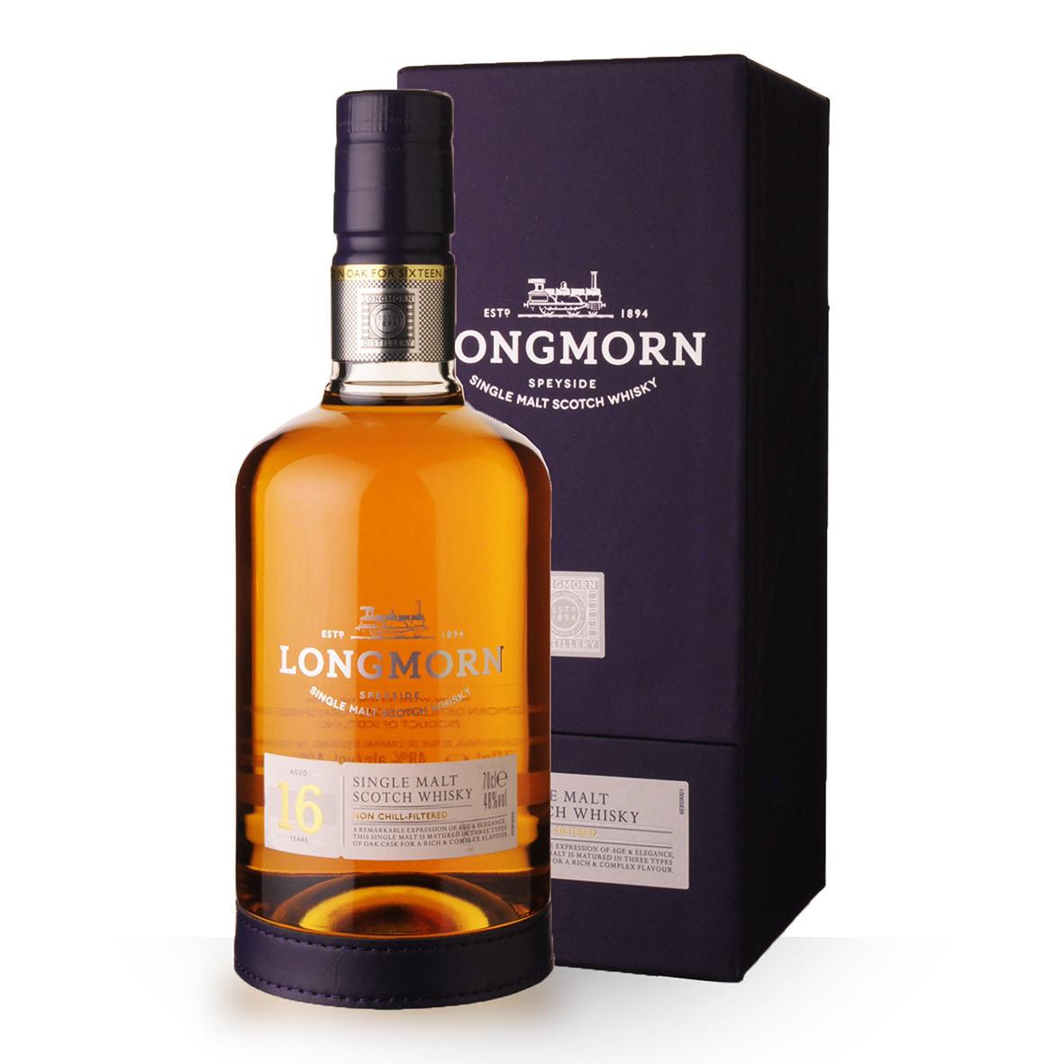 Whisky Longmorn 16 ans 70cl Coffret www.odyssee-vins.com