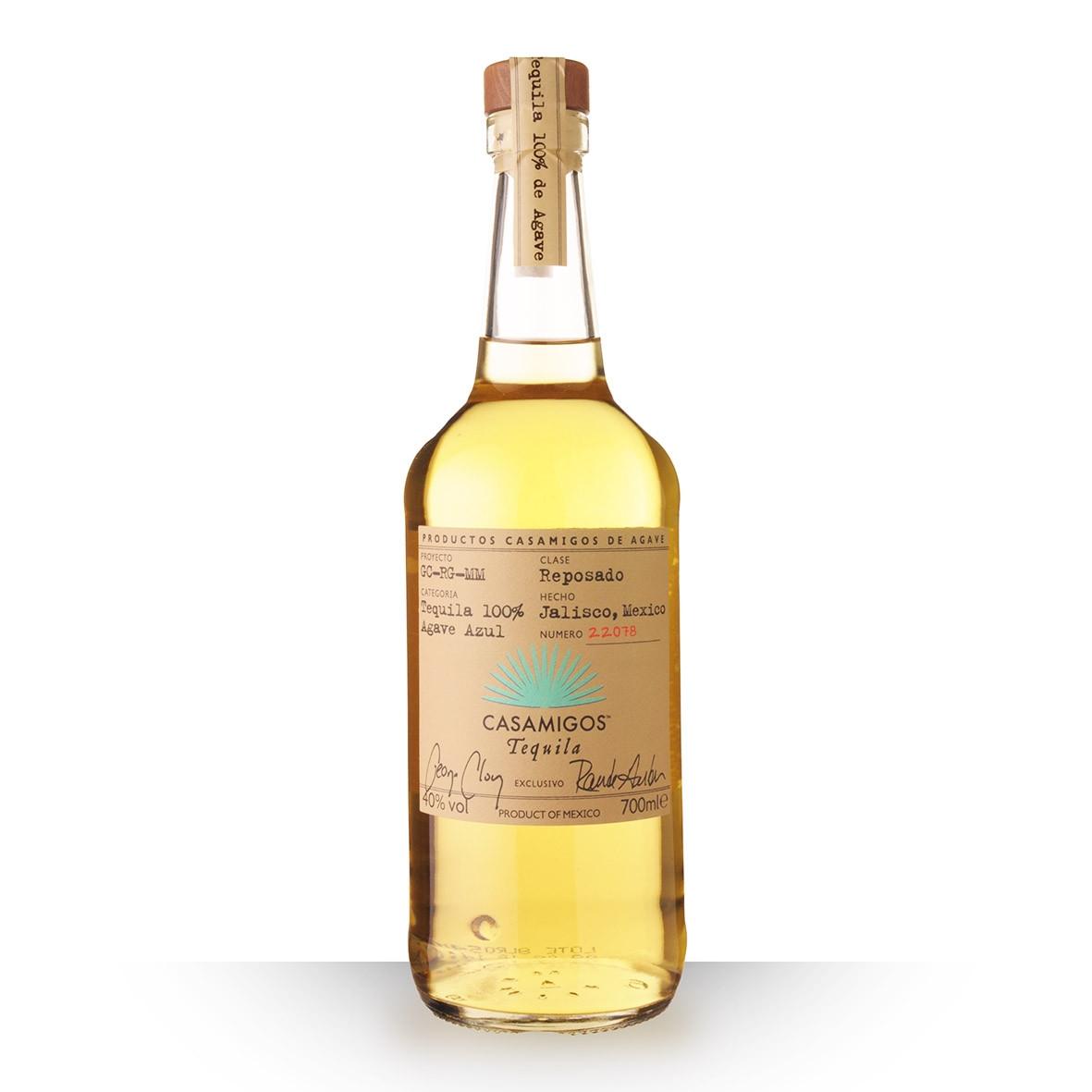 Tequila Casamigos Reposado 70cl www.odyssee-vins.com