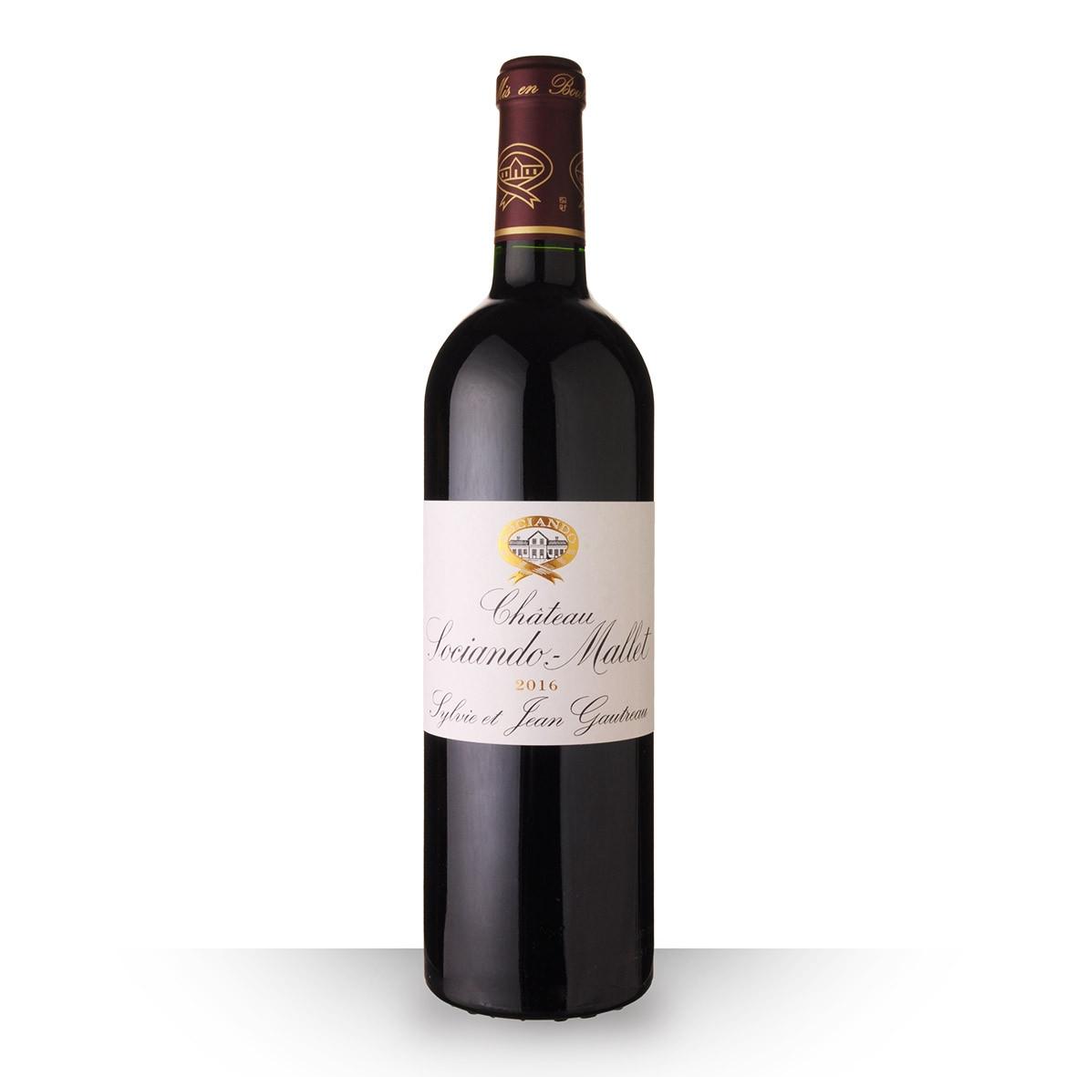 Château Sociando-Mallet Haut-Médoc Rouge 2016 75cl www.odyssee-vins.com