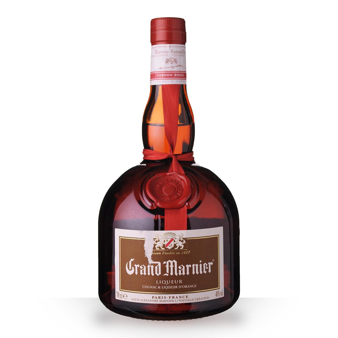 Liqueur Grand Marnier Cordon Rouge 70cl www.odyssee-vins.com