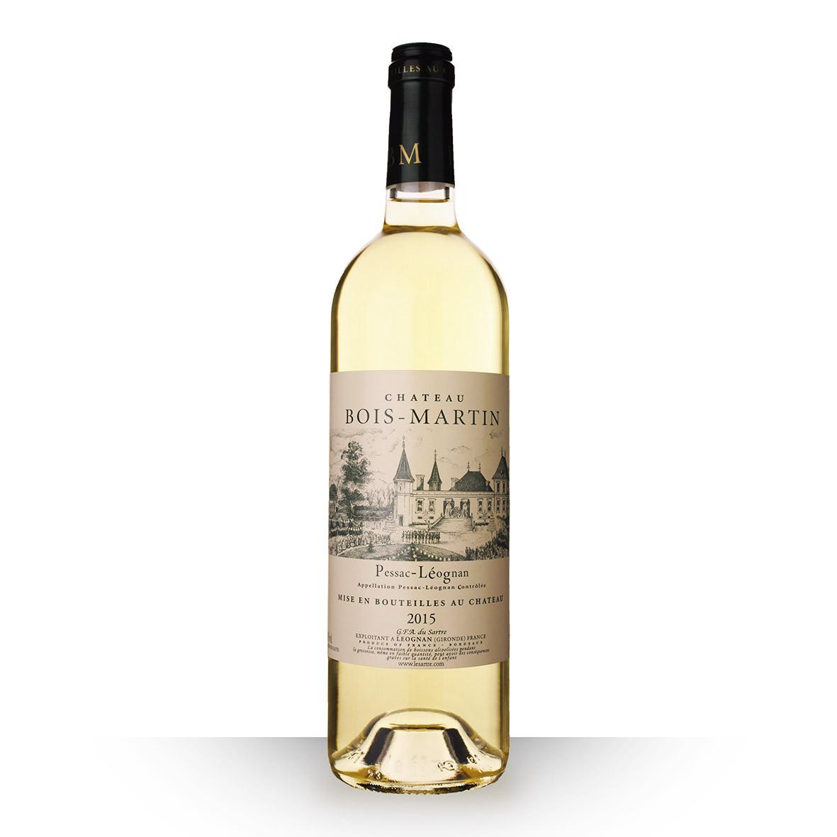 Château Bois-Martin Pessac-Léognan Blanc 2015 75cl www.odyssee-vins.com