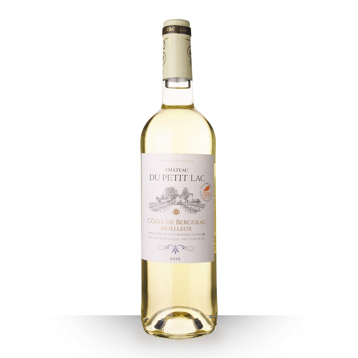 Château du Petit Lac Côtes de Bergerac Blanc 2016 75cl www.odyssee-vins.com