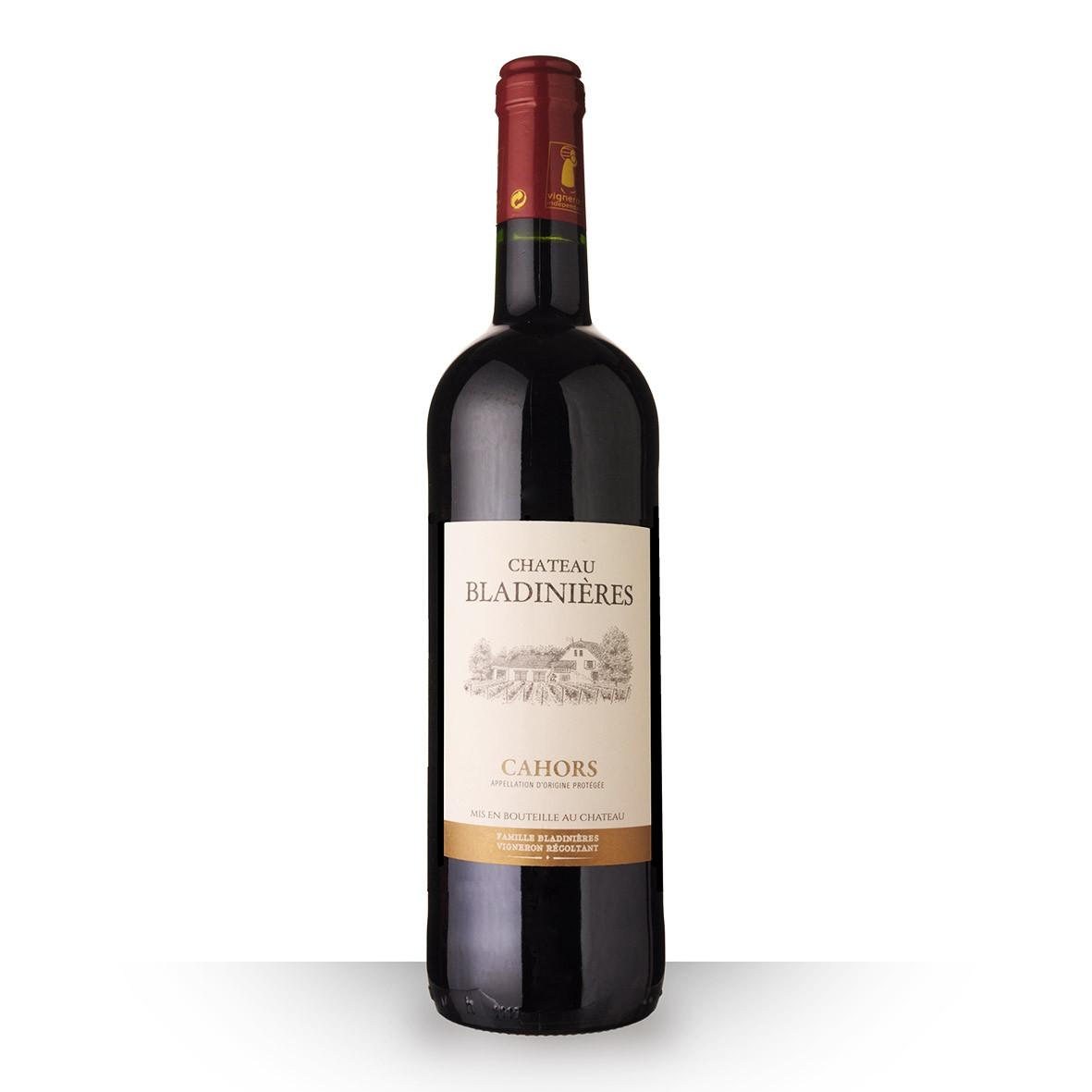 Château Bladinières Cahors Rouge 2016 75cl www.odyssee-vins.com
