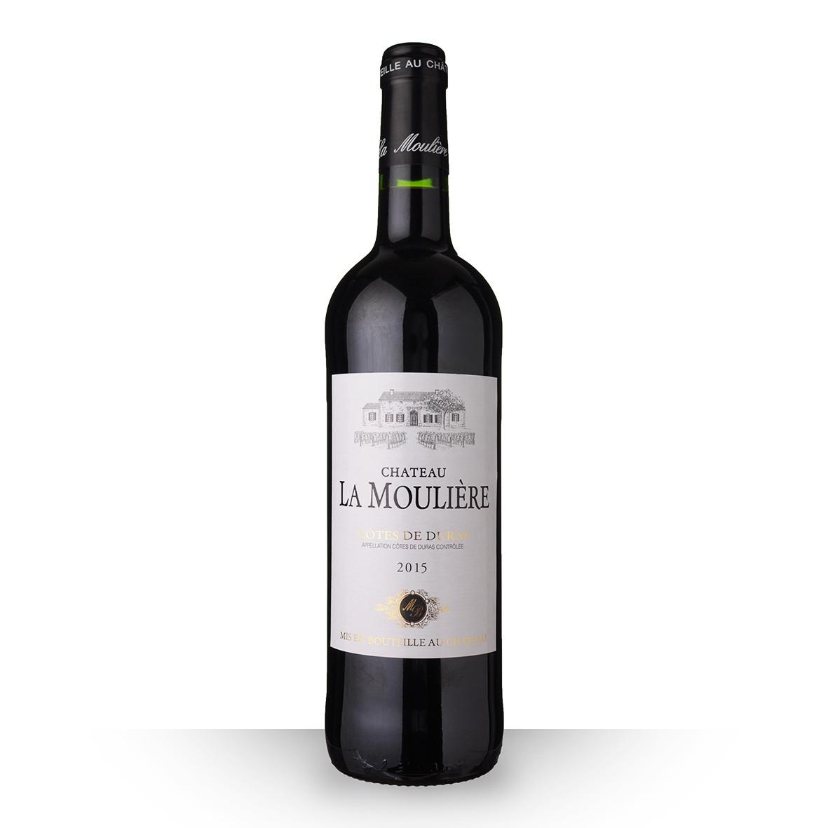 Château la Moulière Côtes de Duras Rouge 2015 75cl www.odyssee-vins.com