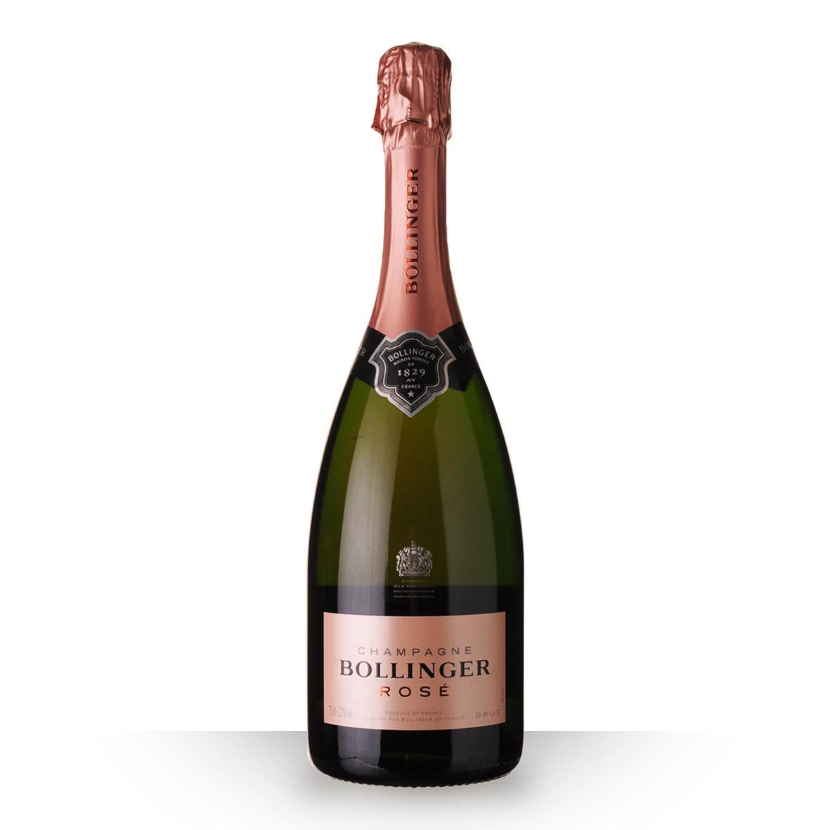 Champagne Bollinger Brut Rosé 75cl www.odyssee-vins.com